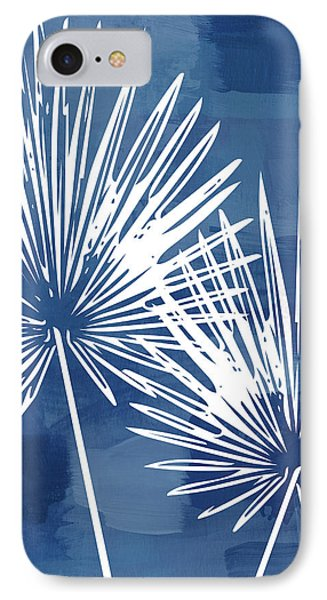 Under The Palms- Art By Linda Woods IPhone Case by Linda Woods