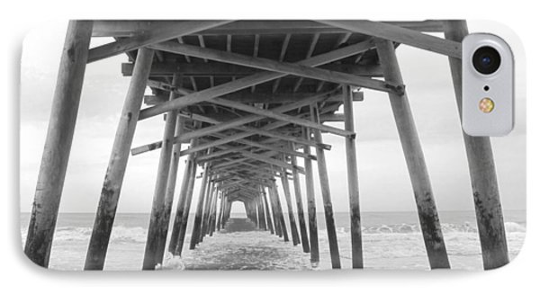 Under The Pier IPhone Case by Betty Buller Whitehead