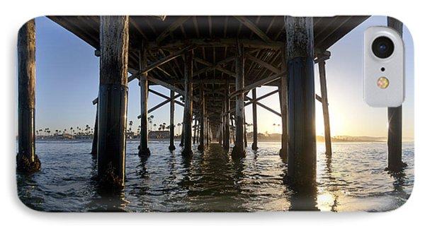 Under The Pier IPhone Case by Sean Davey