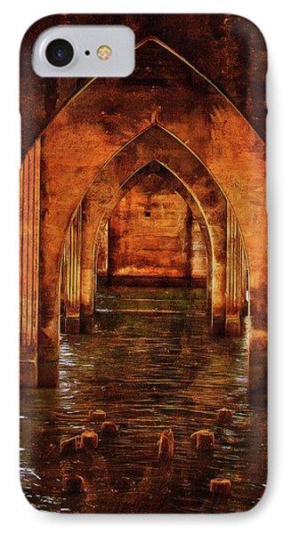 Under The Siuslaw River Bridge IPhone Case by Thom Zehrfeld