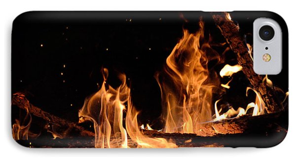 Under The Sparks IPhone Case
