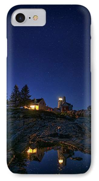 Under The Stars At Pemaquid Point IPhone Case by Rick Berk