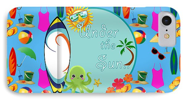 Under The Sun IPhone Case