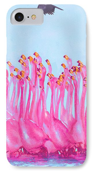 IPhone Case featuring the digital art Underdressed by Jane Schnetlage