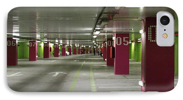 Underground Parking Lot Phone Case by Gaspar Avila