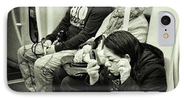 Underground Rimmel #blackandwhite IPhone Case