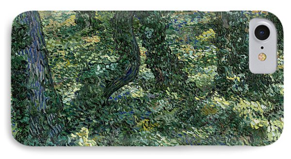 Undergrowth IPhone Case by Vincent van Gogh