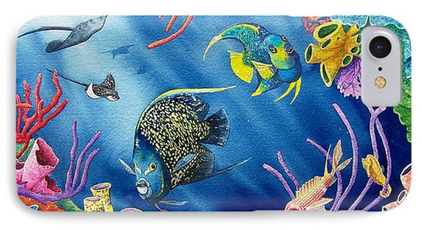 Undersea Garden IPhone Case by Gale Cochran-Smith