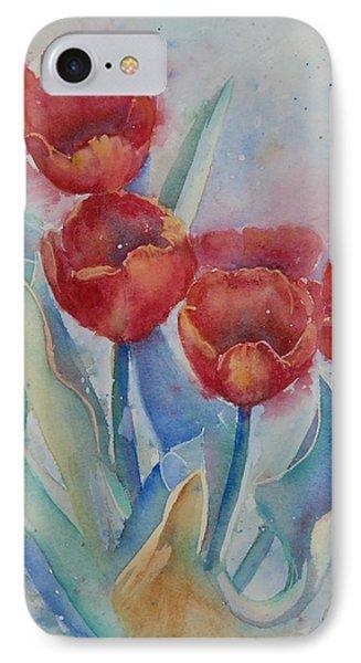 Undersea Tulips IPhone Case