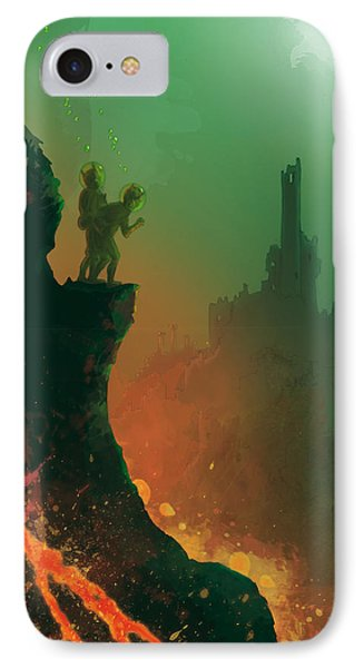 Undersea Volcano IPhone Case by Andy Catling