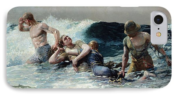 Undertow IPhone Case by Winslow Homer