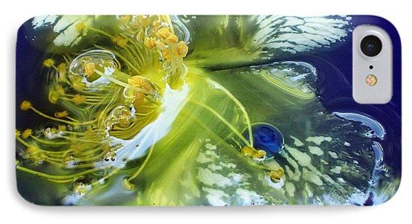 Underwater Flower Abstraction 2 IPhone Case
