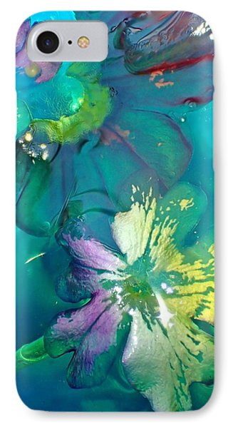 Underwater Flower Abstraction 3 IPhone Case