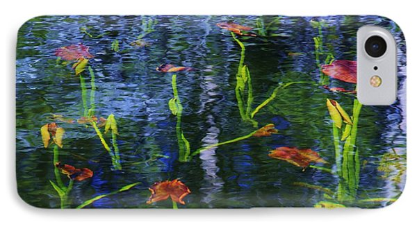 IPhone Case featuring the photograph Underwater Lilies by Sean Sarsfield