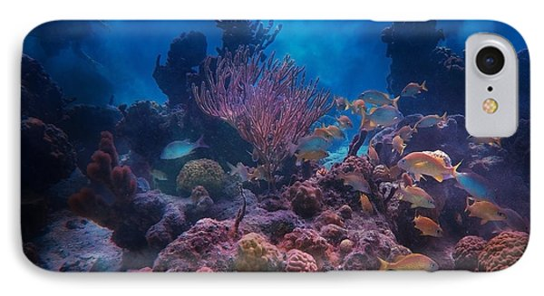 Underwater Paradise IPhone Case by Betsy Knapp