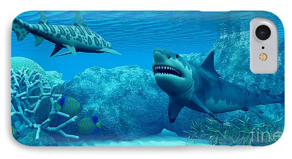 Underwater World Phone Case by Corey Ford