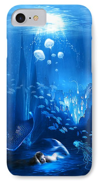 Underwater World IPhone Case by Svetlana Sewell