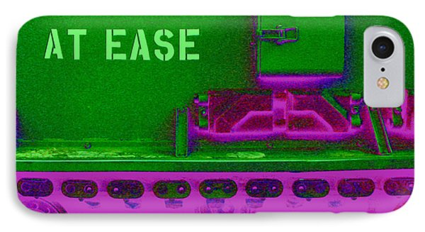 Uneasily At Ease IPhone Case