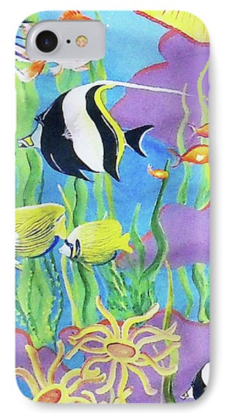 Under The Sea IPhone Case by Janis Grau