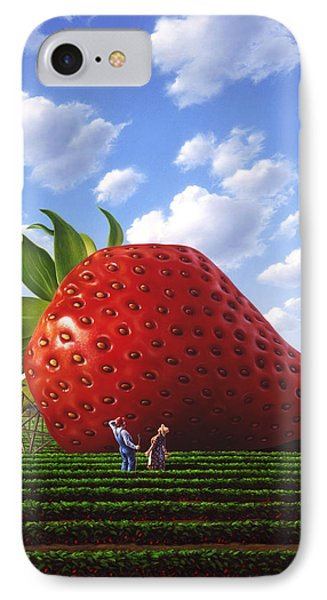 Unexpected Growth IPhone Case by Jerry LoFaro