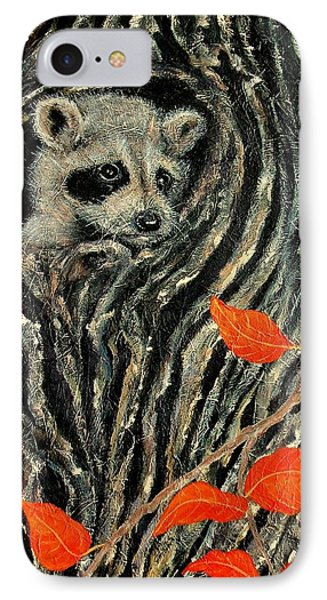 IPhone Case featuring the painting Unexpected Visitor by Susan DeLain