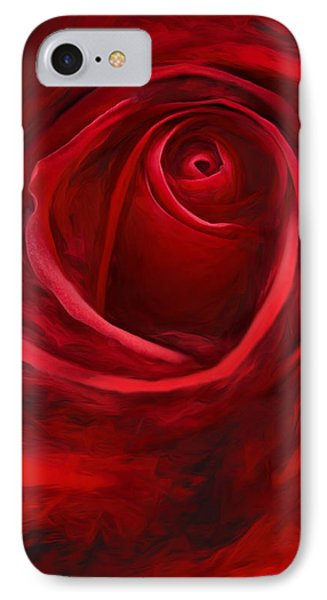 Unfurling Beauty II IPhone Case