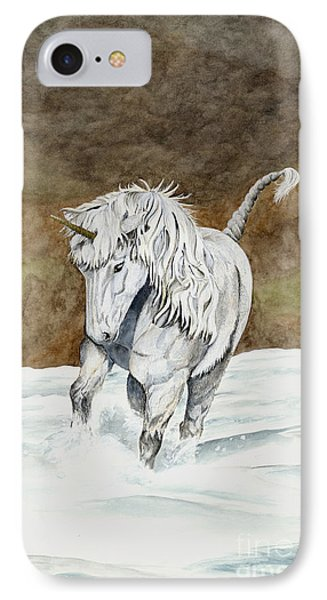 Unicorn Icelandic IPhone Case by Shari Nees