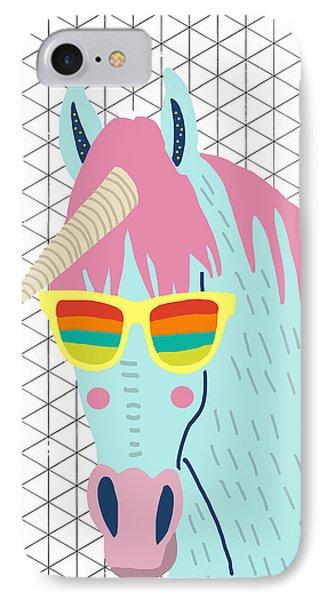 Unicorn IPhone Case by Nicole Wilson