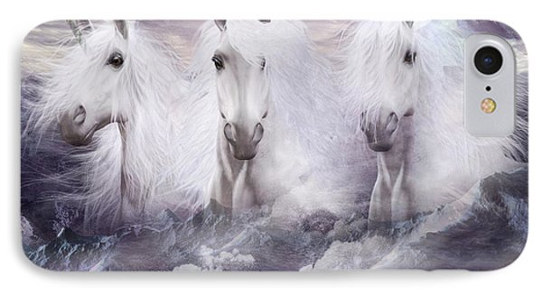 Unicorns Of The Mountains IPhone Case