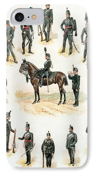 Uniforms Of The Rifle Brigade IPhone Case