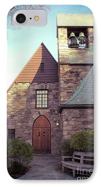Union Church Of Pocantico Hills IPhone Case by Colleen Kammerer