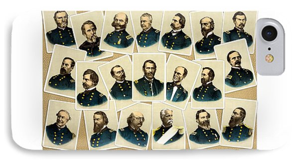 Union Commanders Of The Civil War Phone Case by War Is Hell Store