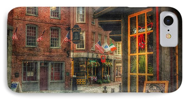 Union Oyster House - Blackstone Block - Boston IPhone Case by Joann Vitali