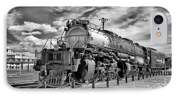 IPhone Case featuring the photograph Union Pacific 4-8-8-4 Big Boy by Paul W Faust - Impressions of Light