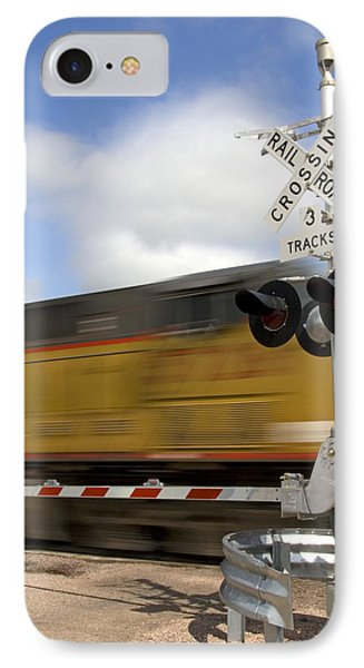 Union Pacific Coal Train Phone Case by David R Frazier and Photo Researchers