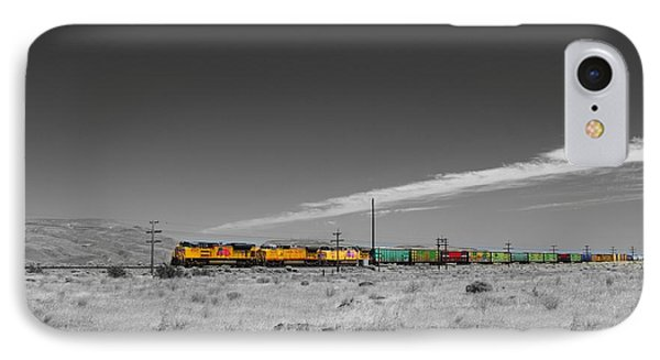 Union Pacific In Columbia Gorge IPhone Case