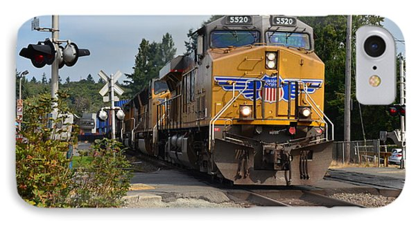 Union Pacific IPhone Case by Mark Bowmer