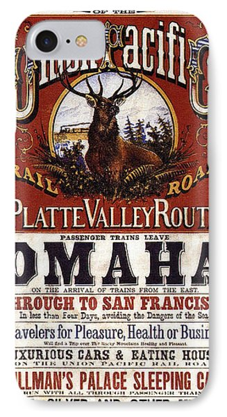 Union Pacific Railroad Opens The West - May 10, 1869 IPhone Case by Daniel Hagerman