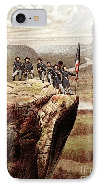 Union Soldiers On Lookout Mountain, Tennessee IPhone Case