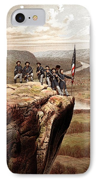 Union Soldiers On Lookout Mountain IPhone Case by War Is Hell Store