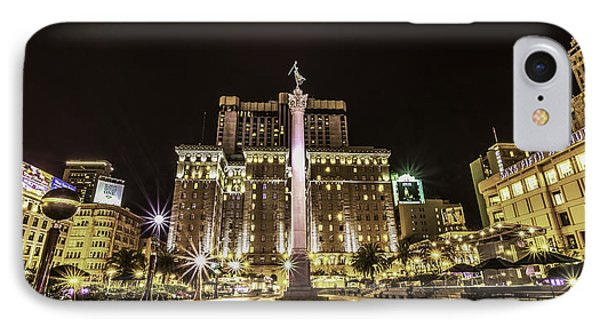 Union Square IPhone Case by Phil Fitzgerald