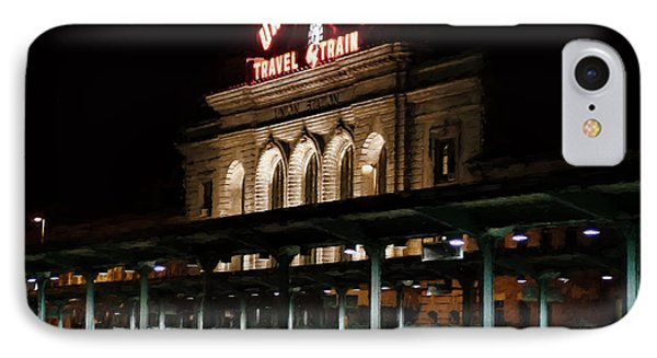 Union Station Denver Colorado IPhone Case by Ken Smith