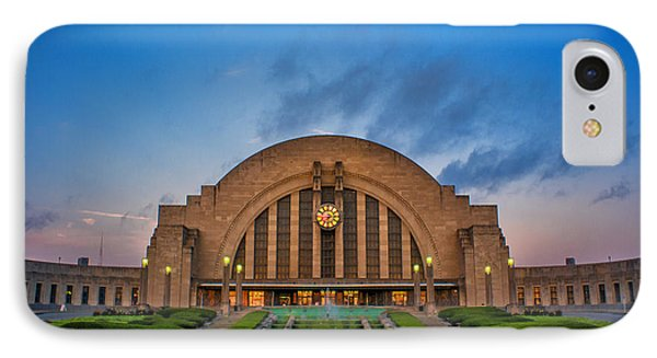 Union Terminal At Dawn IPhone Case by Rob Amend