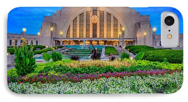 Union Terminal At Sunrise IPhone Case