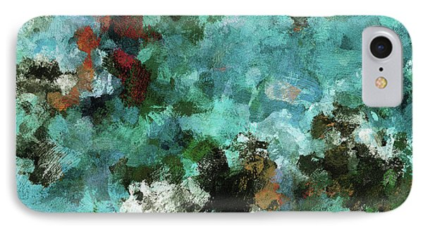 Unique Abstract Art / Landscape Painting IPhone Case by Ayse Deniz