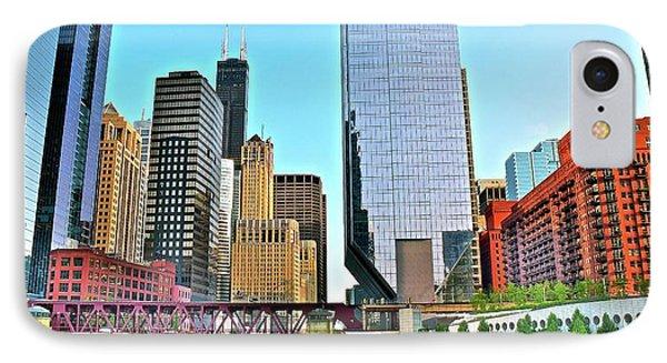 Unique Chicago Panoramic IPhone Case