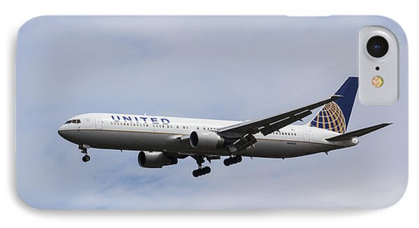 United Airlines Boeing 767 IPhone Case