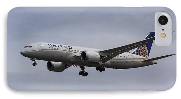 United Airlines Boeing 787 IPhone Case