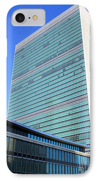 IPhone Case featuring the photograph United Nations 1 by Randall Weidner