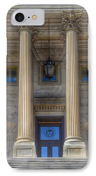 United States Capitol - House Of Representatives  IPhone Case by Marianna Mills
